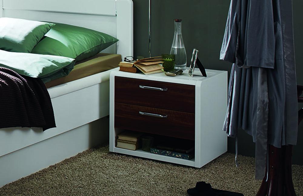 Schlafzimmer nussbaum weis schlafzimmer kinderzimmer - Bett landhausstil weiay ...