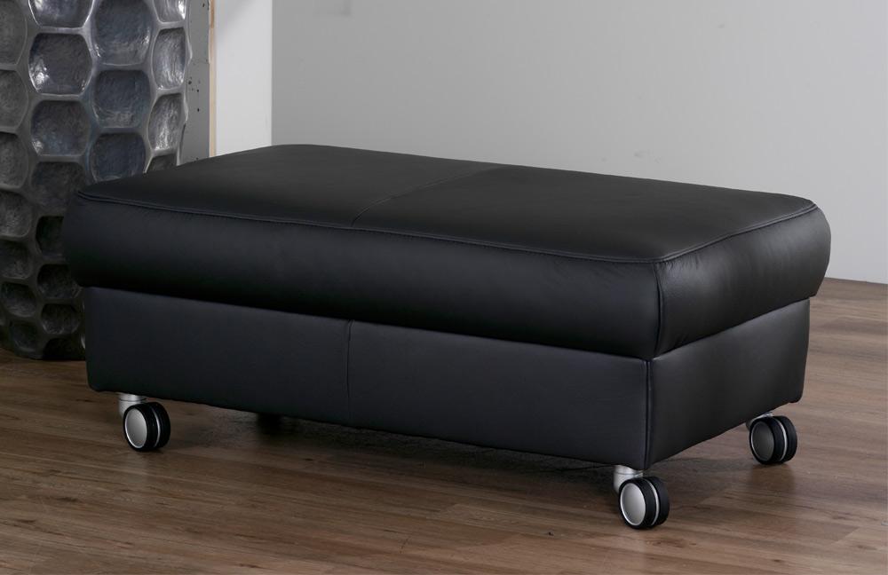 himolla 1422 henri ledersofa black m bel letz ihr online shop. Black Bedroom Furniture Sets. Home Design Ideas