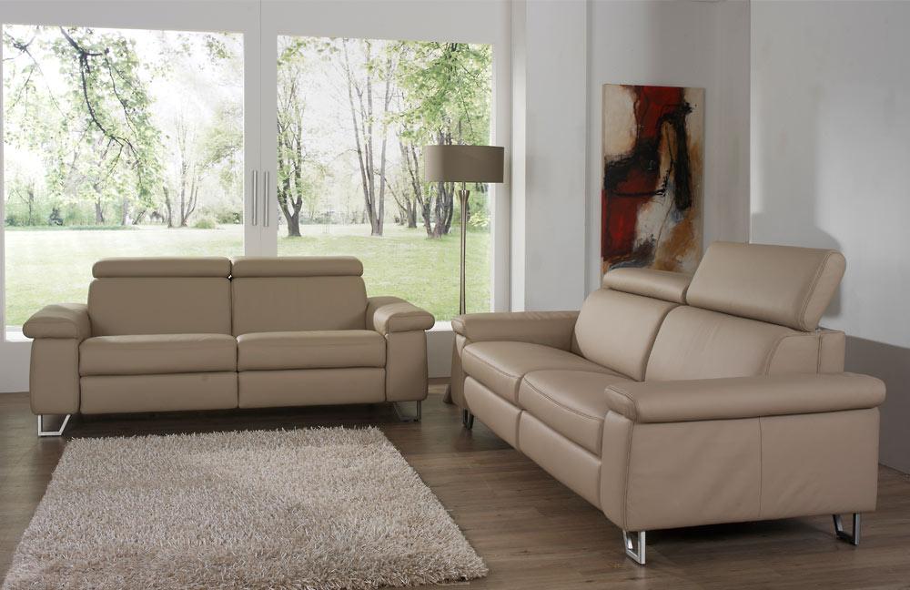 himolla 1422 henri ledersofa cappuccino m bel letz ihr online shop. Black Bedroom Furniture Sets. Home Design Ideas
