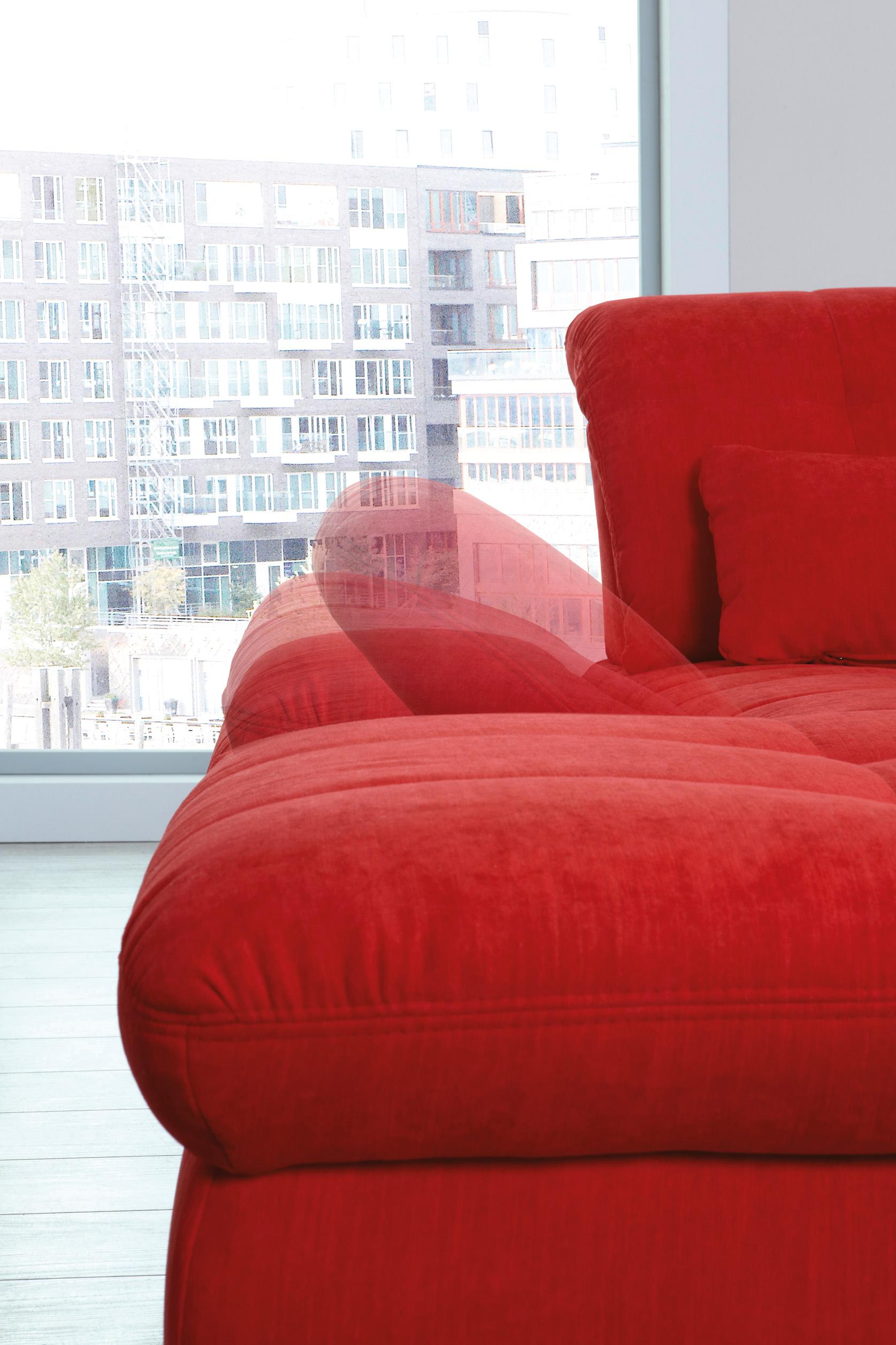 houston von poco polstergarnitur rot m bel letz ihr online shop. Black Bedroom Furniture Sets. Home Design Ideas