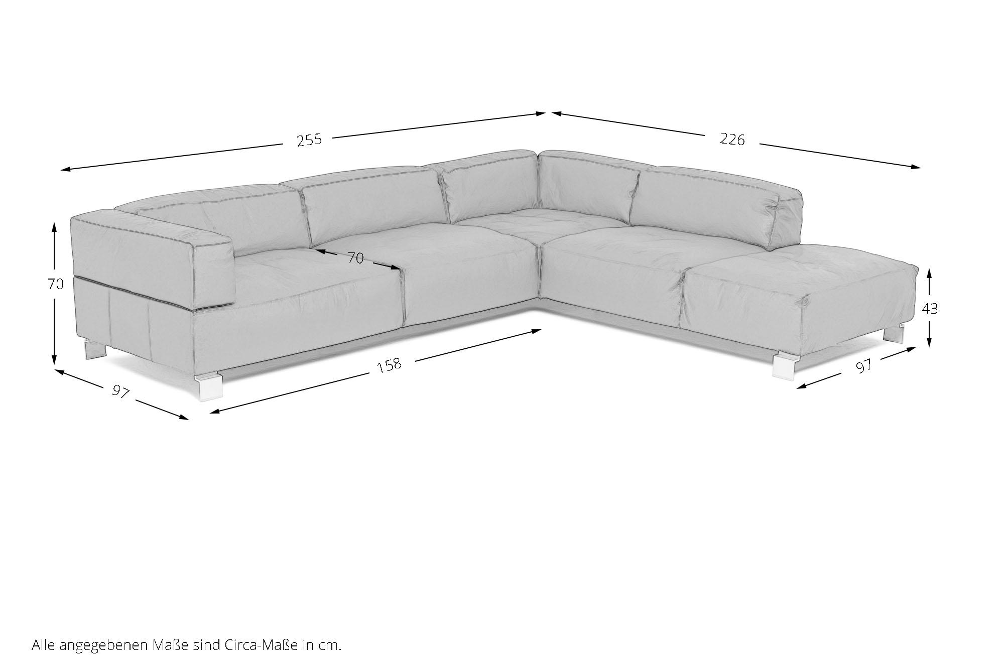 k w polsterm bel loft ledersofa rot m bel letz ihr online shop. Black Bedroom Furniture Sets. Home Design Ideas