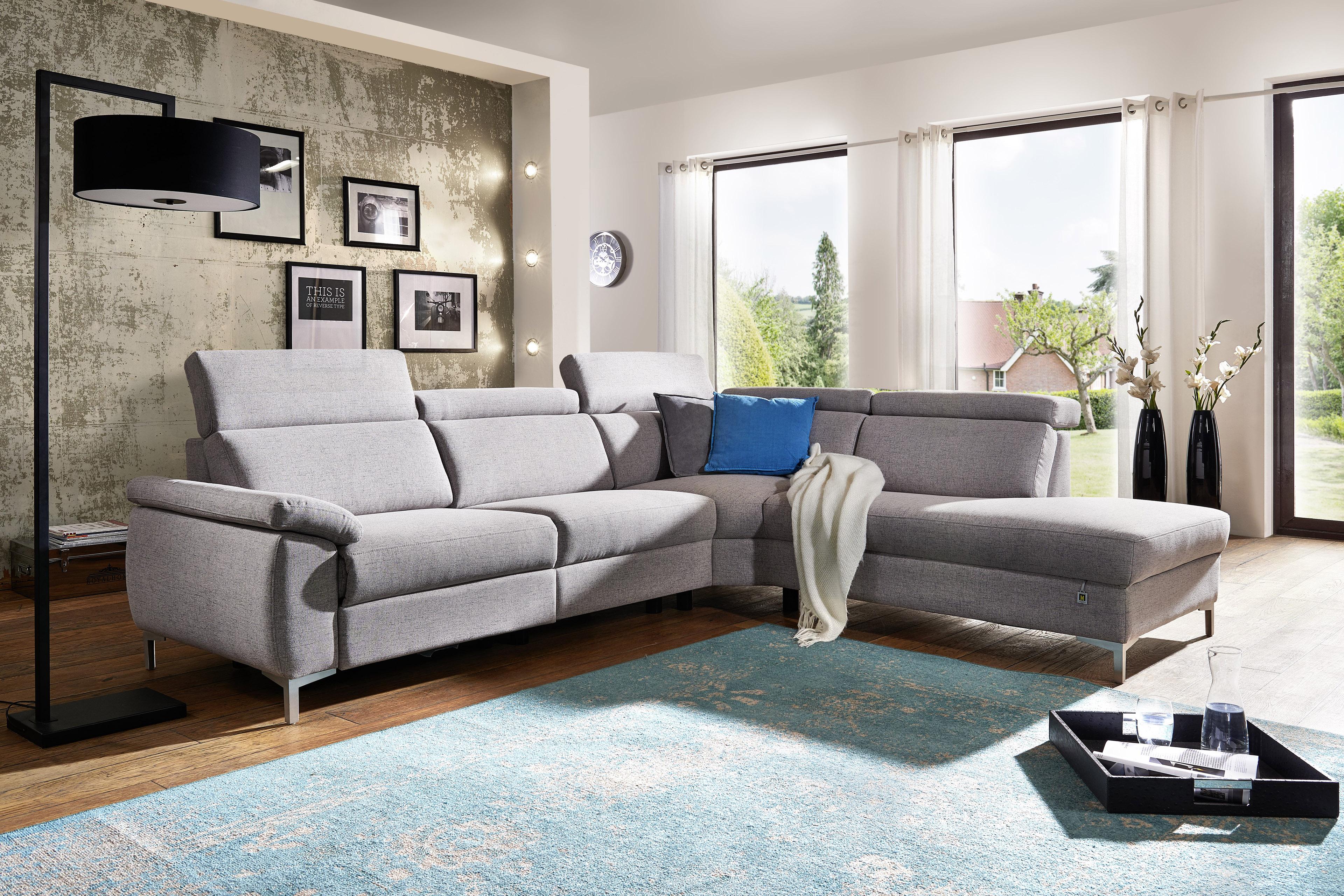 dietsch malta ecksofa hellgrau m bel letz ihr online shop. Black Bedroom Furniture Sets. Home Design Ideas
