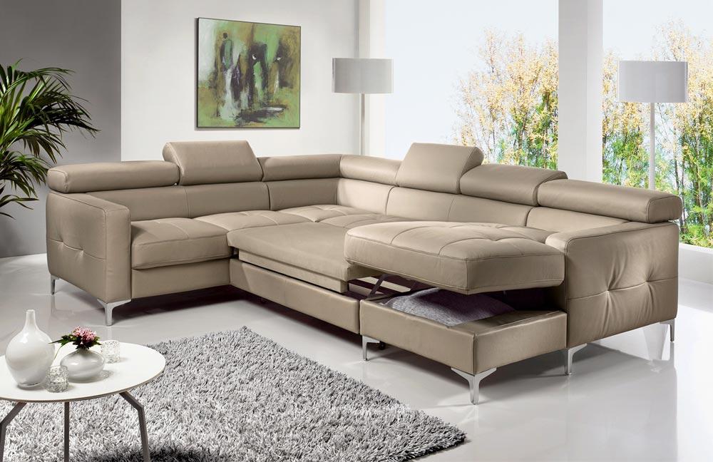 cotta sammy wohnlandschaft in kunstleder beige m bel letz ihr online shop. Black Bedroom Furniture Sets. Home Design Ideas