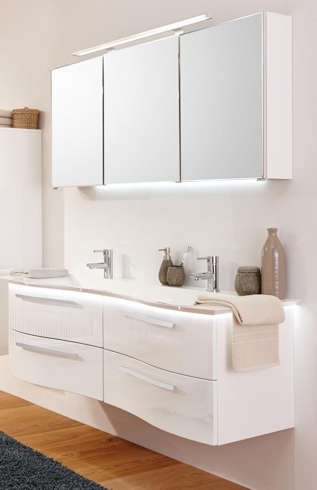 badezimmer wave plus wei hochglanz von puris m bel letz ihr online shop. Black Bedroom Furniture Sets. Home Design Ideas