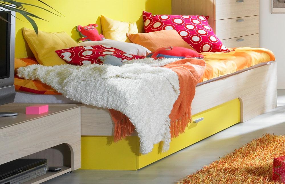 rudolf max i jugendzimmer ahorn gelb m bel letz ihr online shop. Black Bedroom Furniture Sets. Home Design Ideas