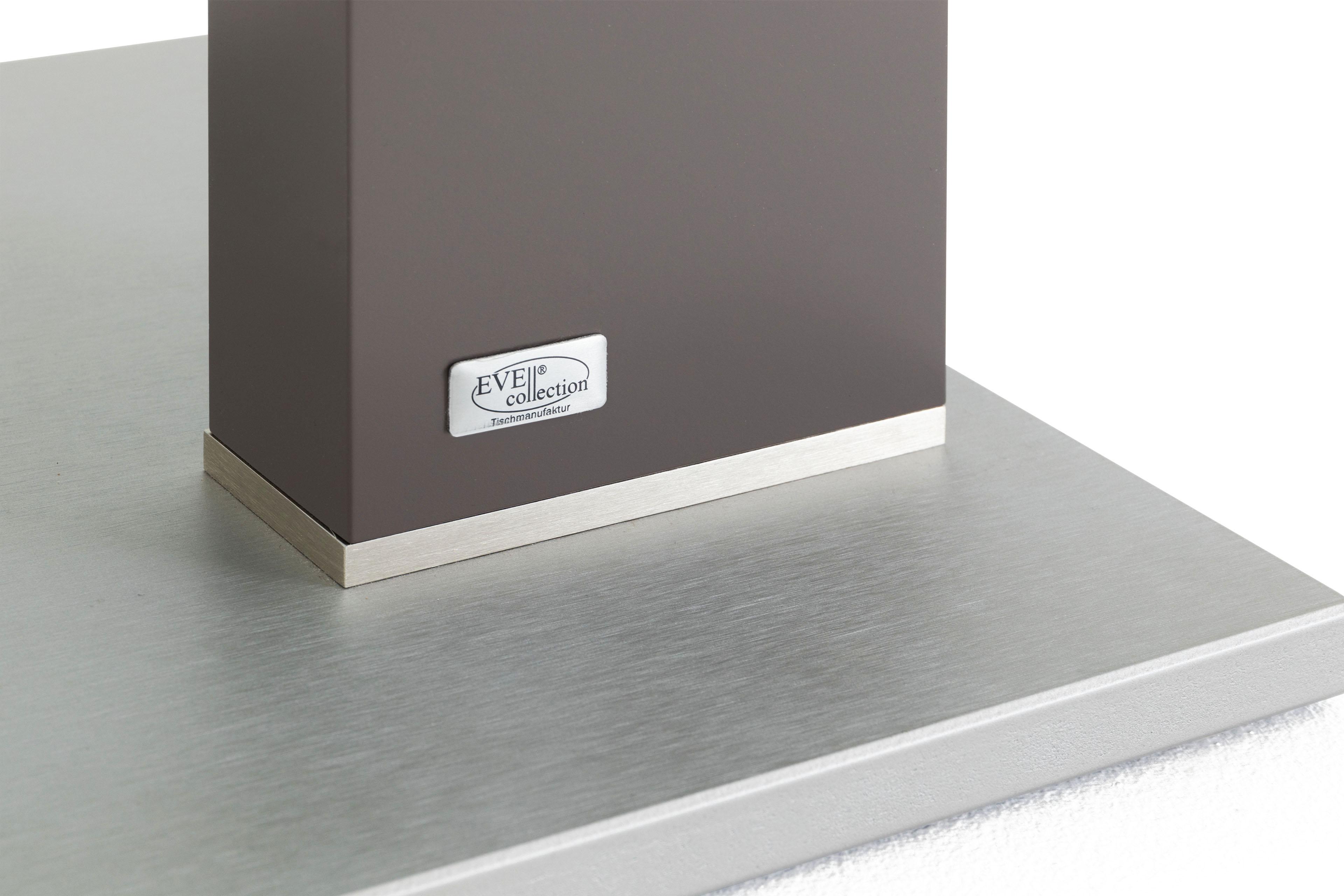 Couchtisch Brenzone in Weiß & Schlamm von EVE collection