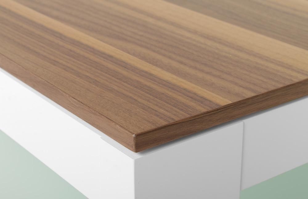 couchtisch cth90b wei nussbaum von gwinner wohndesign m bel letz ihr online shop. Black Bedroom Furniture Sets. Home Design Ideas