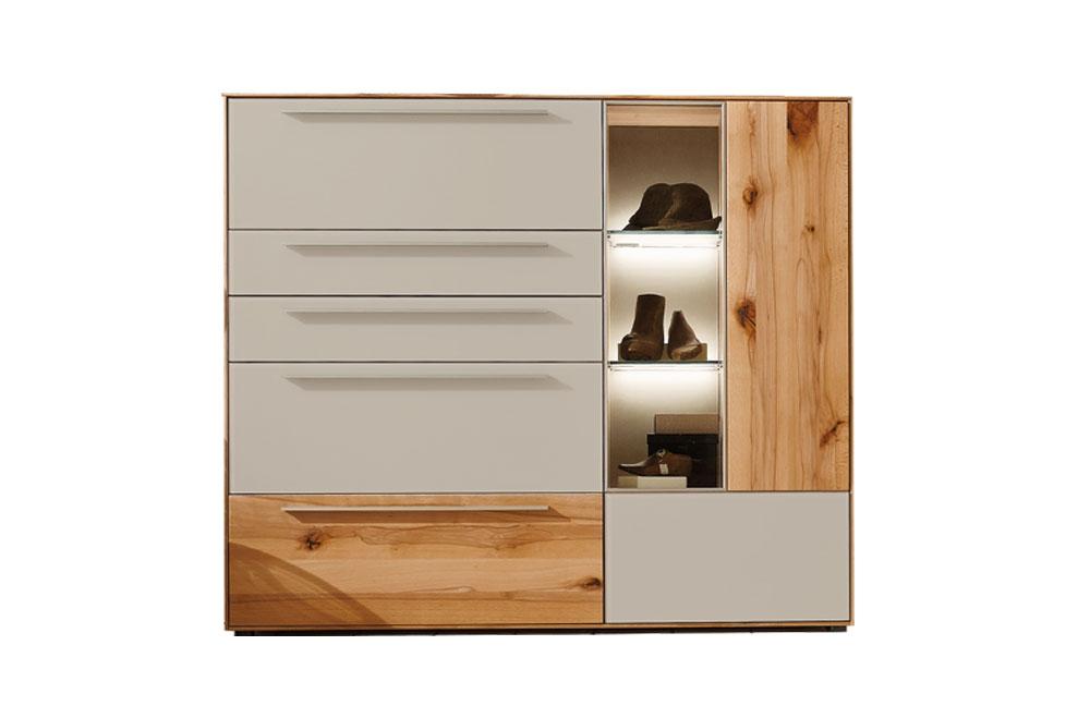 highboard calleo mit led beleuchtung von w stmann markenm bel m bel letz ihr online shop. Black Bedroom Furniture Sets. Home Design Ideas