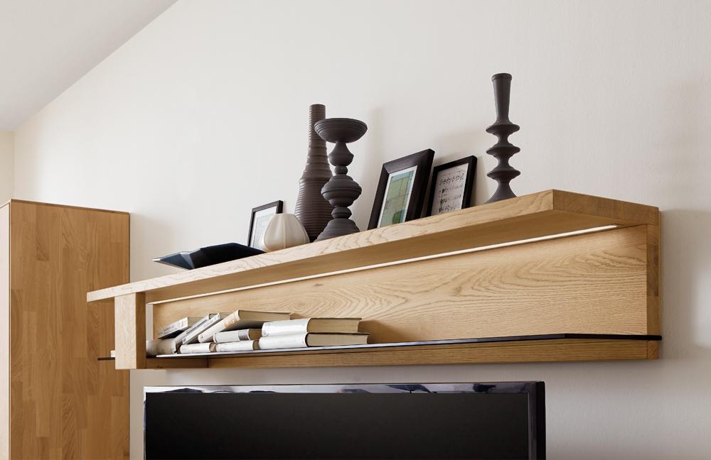wohnwand calleo 0004 massive wildeiche bianco von w stmann markenm bel m bel letz ihr. Black Bedroom Furniture Sets. Home Design Ideas