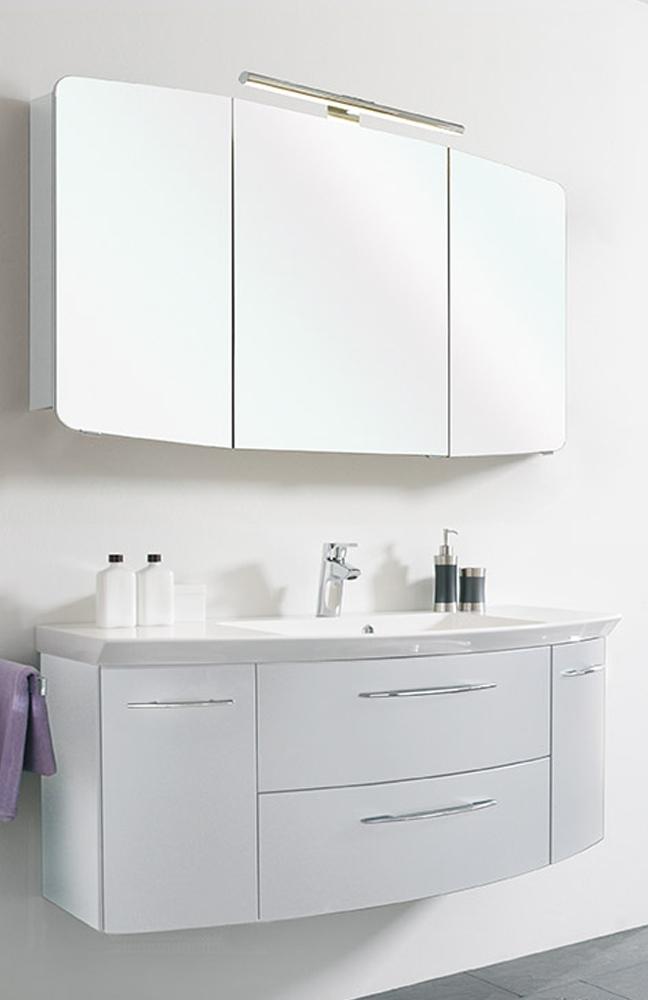 badezimmer cassca 2 2 wei von pelipal m bel letz ihr online shop. Black Bedroom Furniture Sets. Home Design Ideas