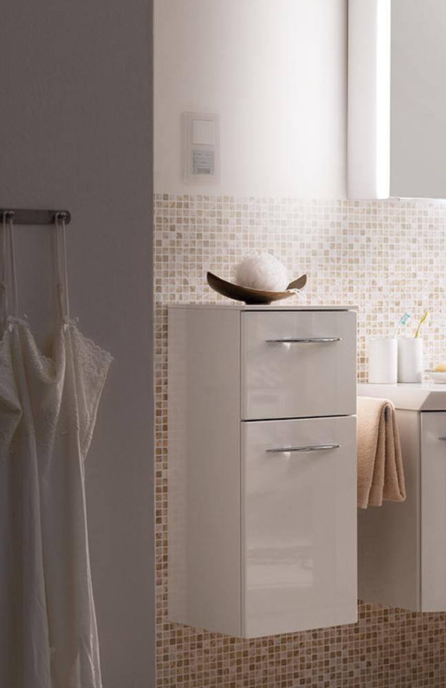 badezimmer cassca hochglanz wei von pelipal m bel letz ihr online shop. Black Bedroom Furniture Sets. Home Design Ideas