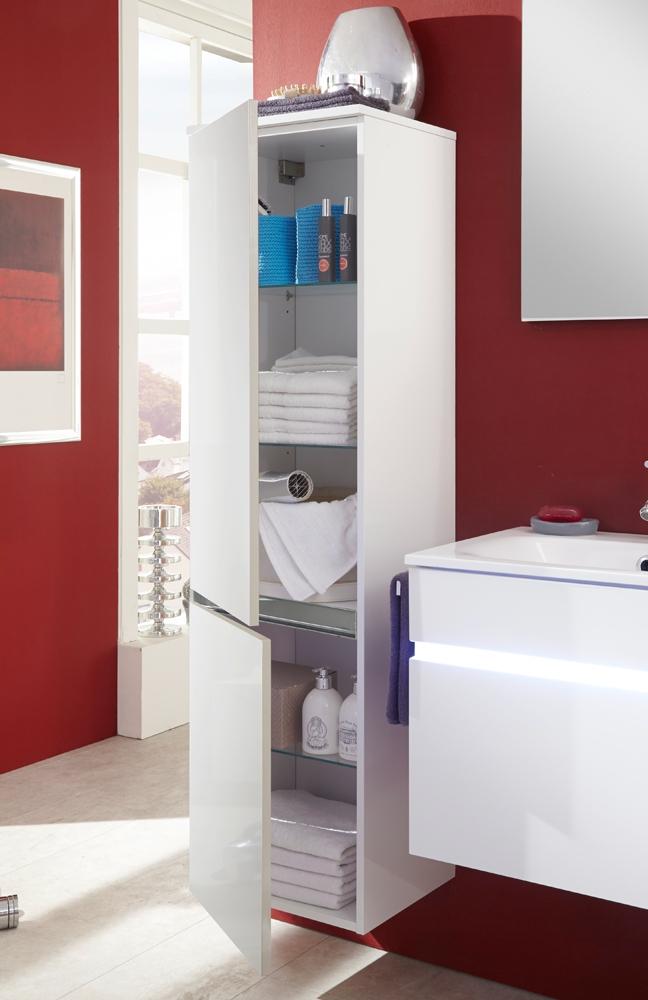 Badezimmer Idea : Badezimmer-Set IDEA Weiß Seidenglanz von Marlin  Möbel Letz - Ihr ...