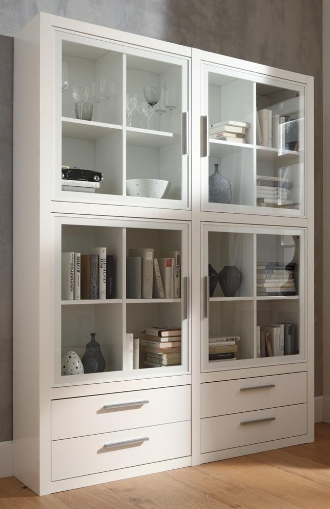 vitrine como wei von cs schmalm bel m bel letz ihr. Black Bedroom Furniture Sets. Home Design Ideas