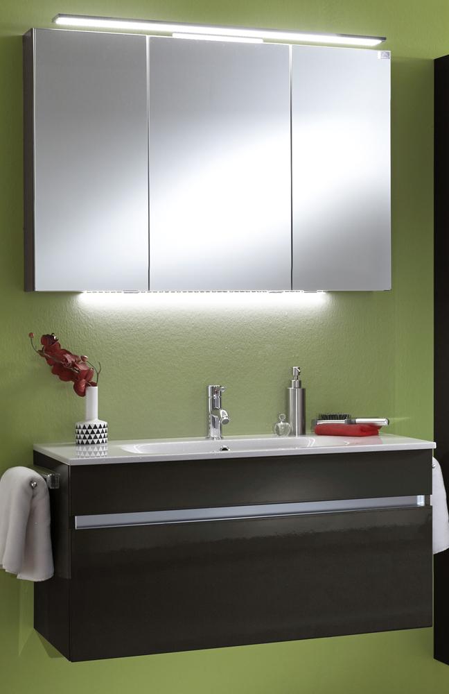 Badezimmer Idea : Badezimmer IDEA Lacklaminat anthrazit von Marlin  Möbel Letz - Ihr ...