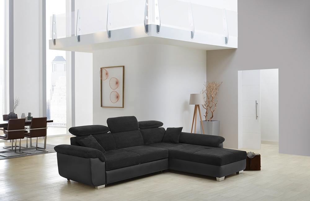 jockenh fer landshut ecksofa in schwarz m bel letz ihr online shop. Black Bedroom Furniture Sets. Home Design Ideas