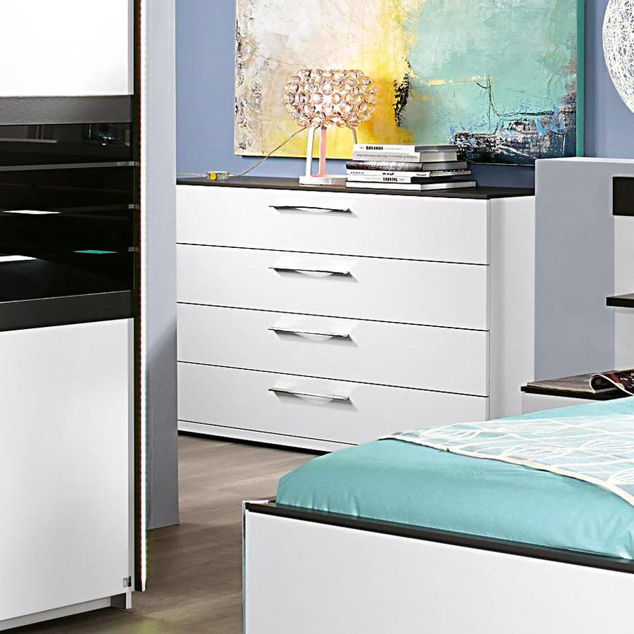 rauch coleen schlafzimmer wei graphit m bel letz ihr online shop. Black Bedroom Furniture Sets. Home Design Ideas
