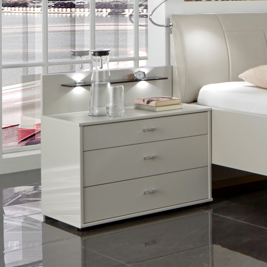 wiemann sunset schlafzimmer champagner m bel letz ihr online shop. Black Bedroom Furniture Sets. Home Design Ideas