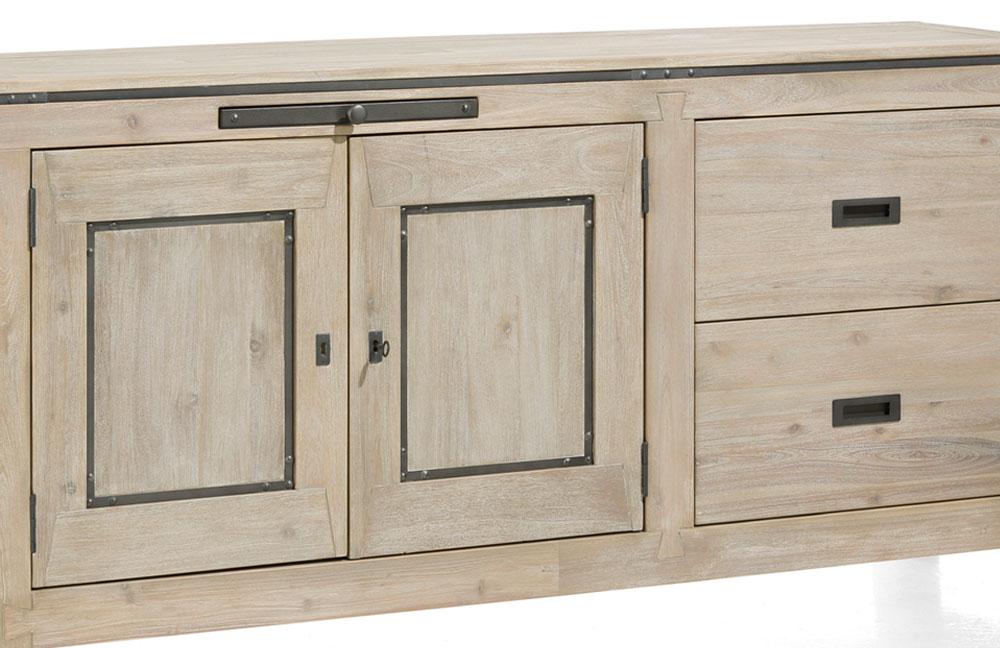 sideboard panay akazie von habufa m bel letz ihr online shop. Black Bedroom Furniture Sets. Home Design Ideas