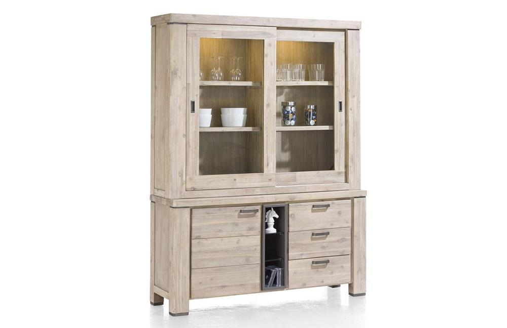 buffet coiba akazie von habufa m bel letz ihr online shop. Black Bedroom Furniture Sets. Home Design Ideas
