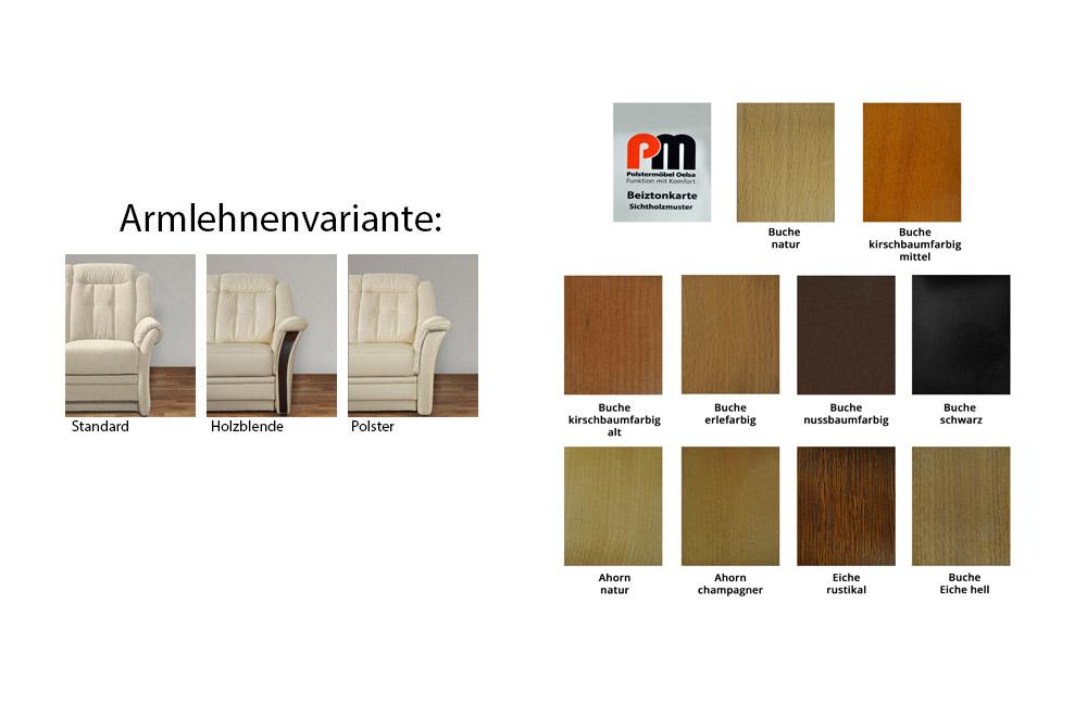 pm oelsa andorra ledersofa in beige m bel letz ihr. Black Bedroom Furniture Sets. Home Design Ideas