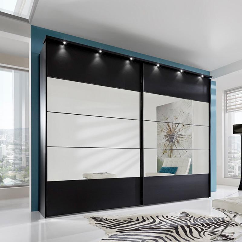wiemann sunset schwarz dekor spiegel m bel letz ihr online shop. Black Bedroom Furniture Sets. Home Design Ideas