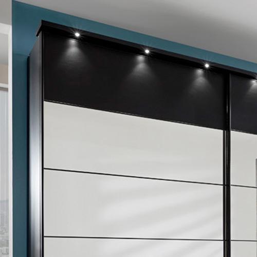 wiemann sunset schwarz dekor spiegel m bel letz ihr. Black Bedroom Furniture Sets. Home Design Ideas