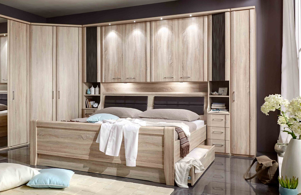 wiemann luxor bettbr cken kombination m bel letz ihr online shop. Black Bedroom Furniture Sets. Home Design Ideas