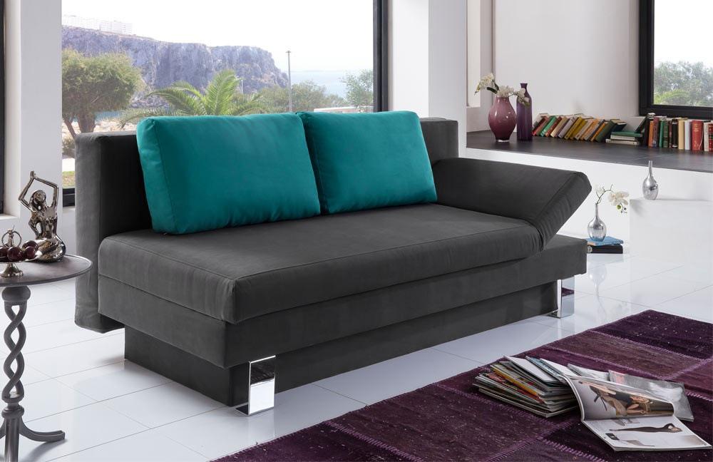 verholt till schlafsofa till in schwarz t rkis m bel. Black Bedroom Furniture Sets. Home Design Ideas