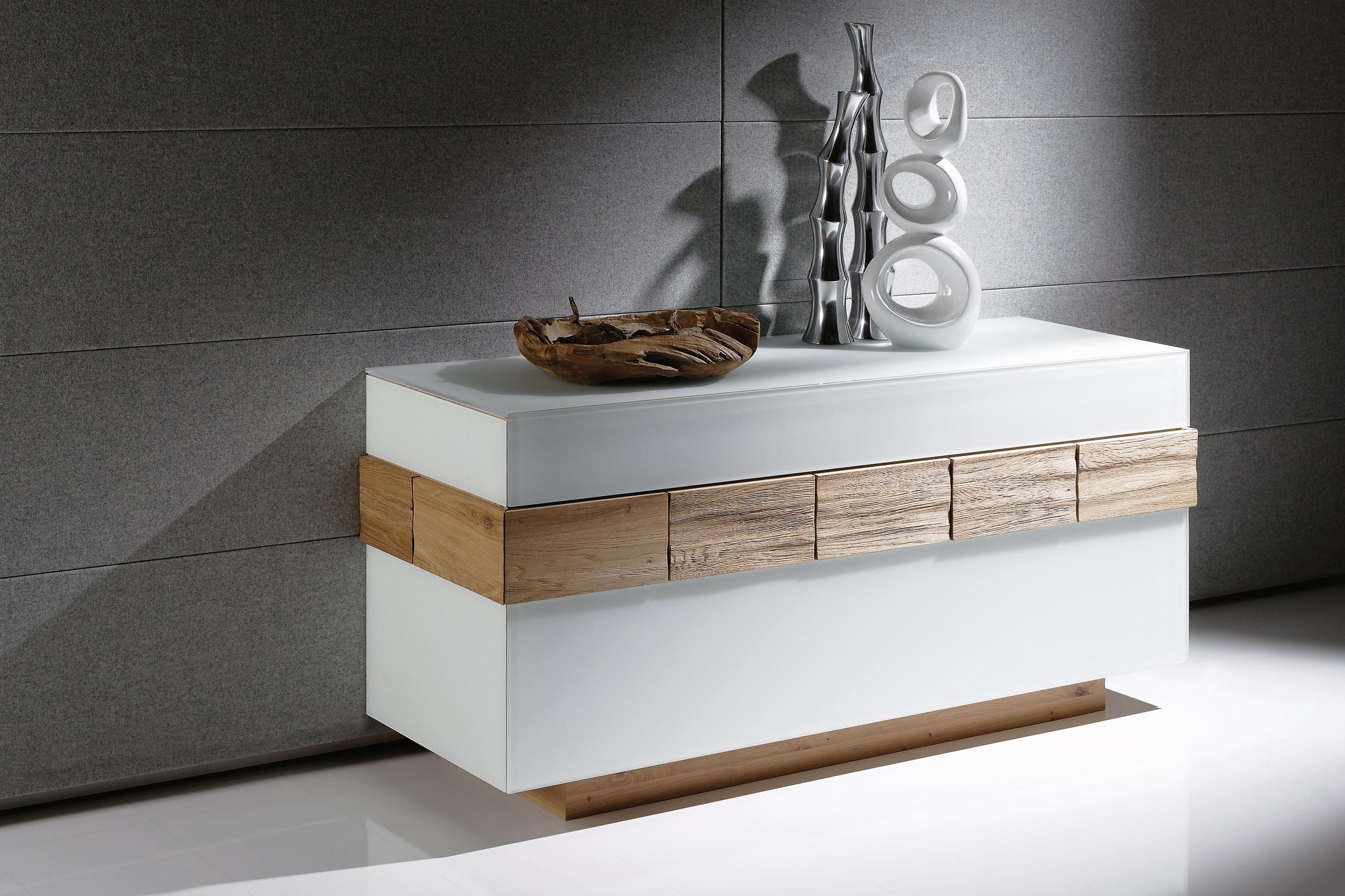 sideboard v montana 160 wildeiche optiwhite von voglauer. Black Bedroom Furniture Sets. Home Design Ideas