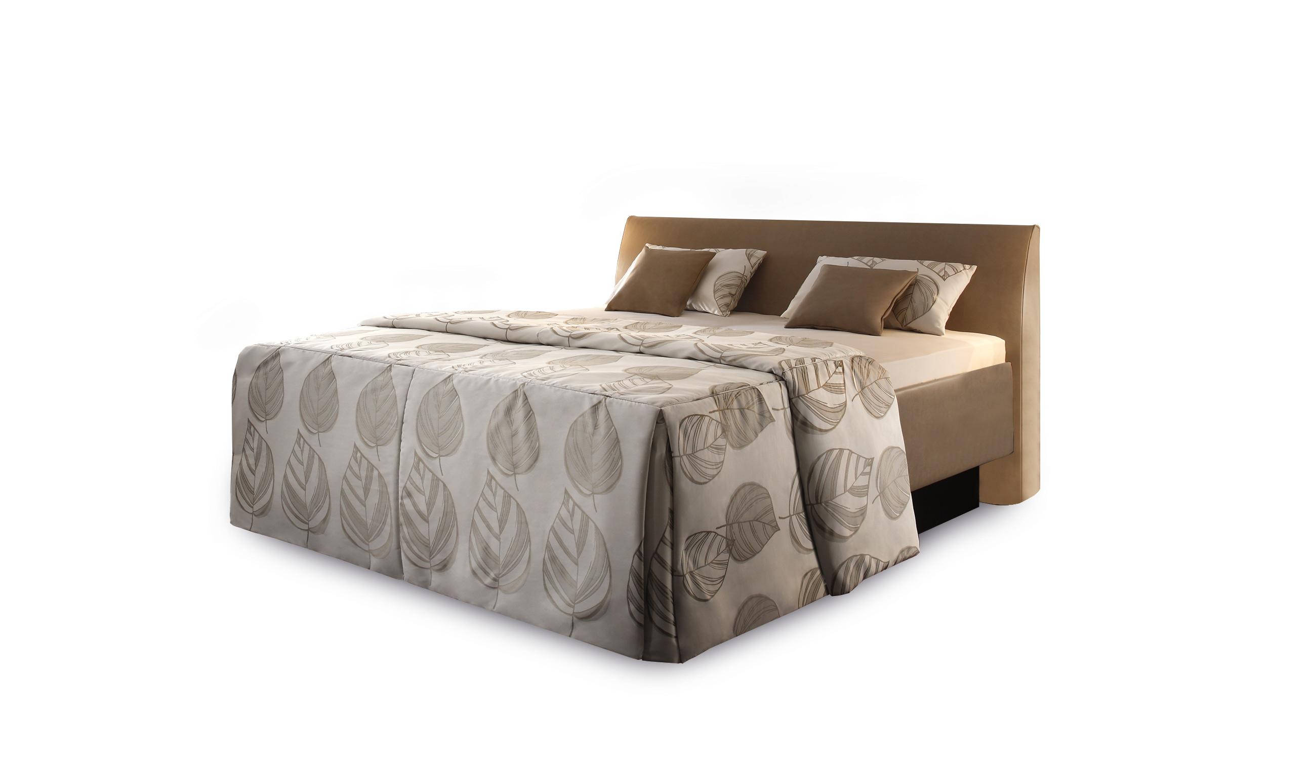 ruf emilia polsterbett in einem braunen kunstlederbezug m bel letz ihr online shop. Black Bedroom Furniture Sets. Home Design Ideas