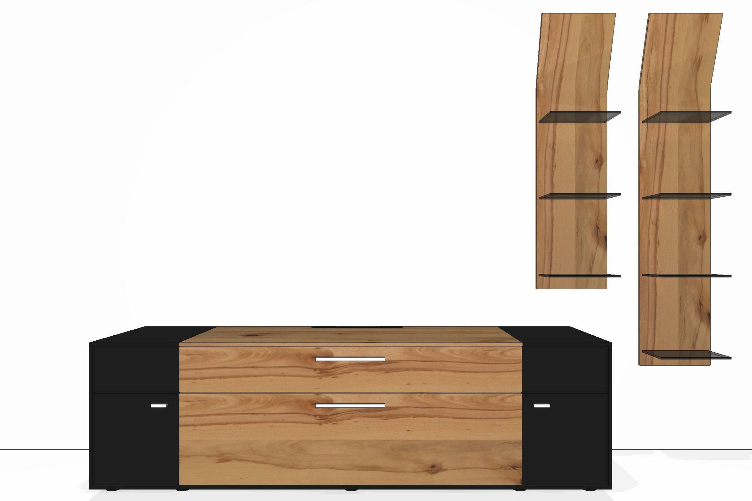 wohnwand media concept mc908 von gwinner m bel letz. Black Bedroom Furniture Sets. Home Design Ideas