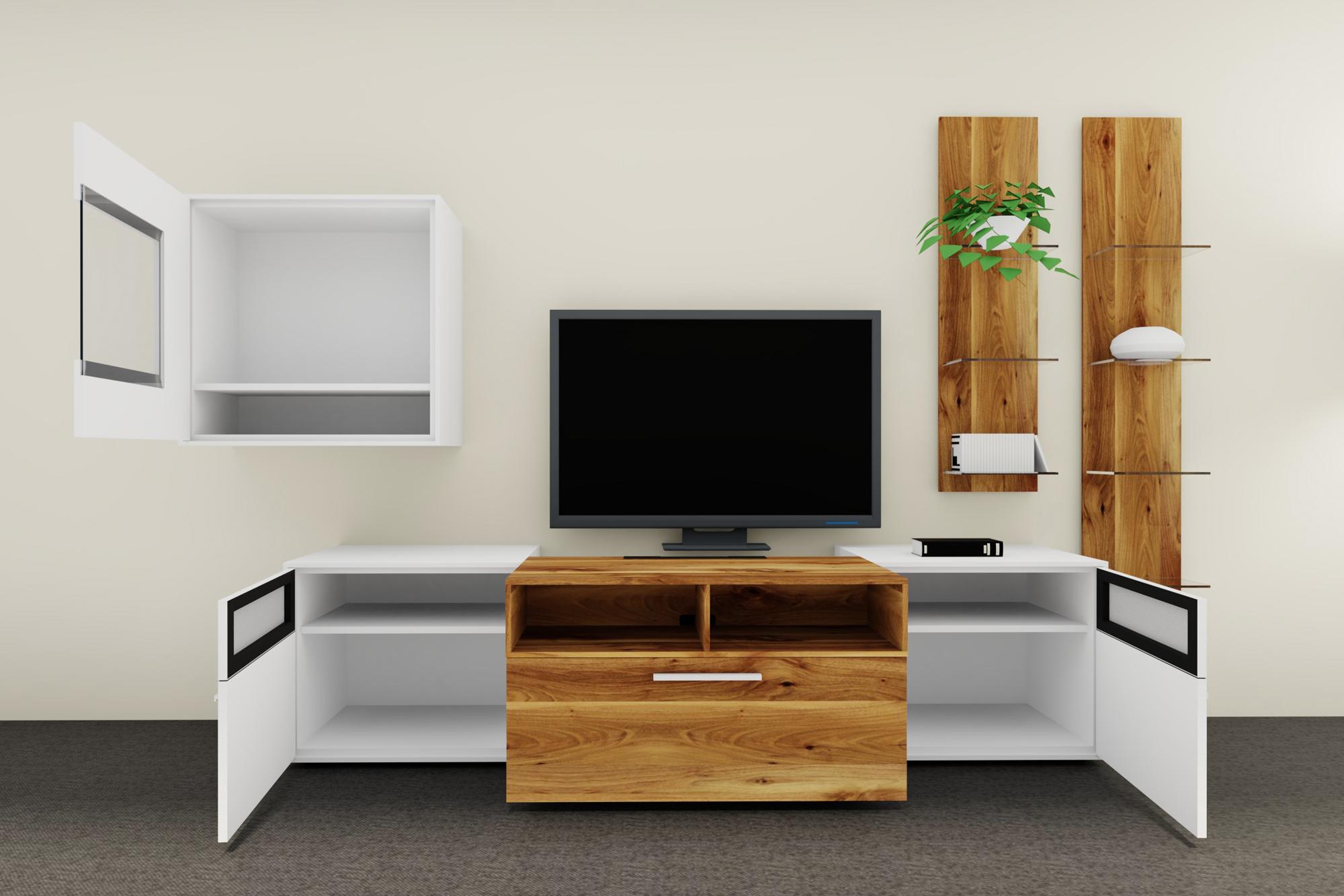 wohnwand media concept mc970 von gwinner m bel letz. Black Bedroom Furniture Sets. Home Design Ideas