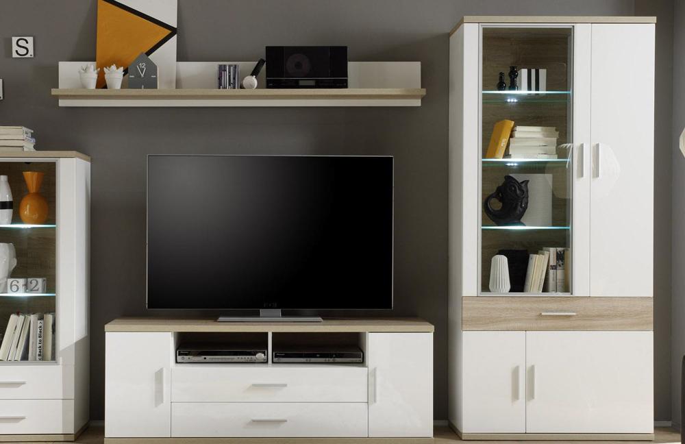wohnwand arena 1487 983 41 von trendteam m bel letz ihr online shop. Black Bedroom Furniture Sets. Home Design Ideas