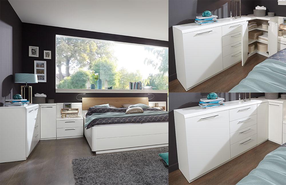 Calida von Disselkamp - Schlafzimmer weiß Eiche bianco