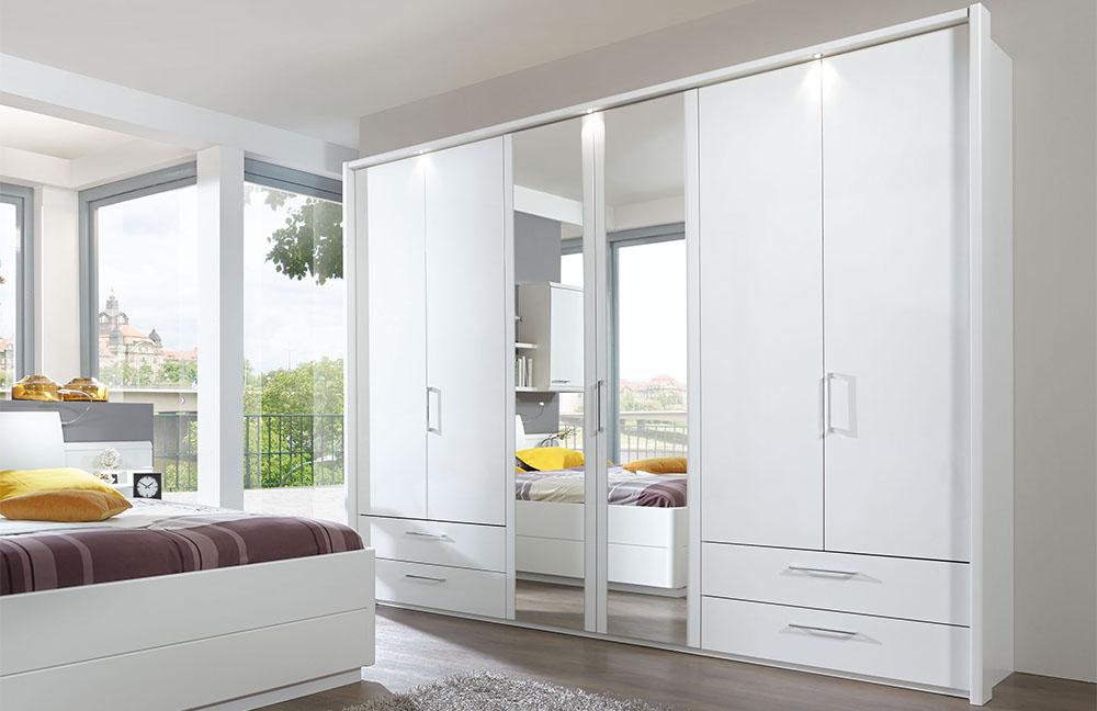 Disselkamp Schlafzimmer Calida weiß  Möbel Letz - Ihr Online-Shop