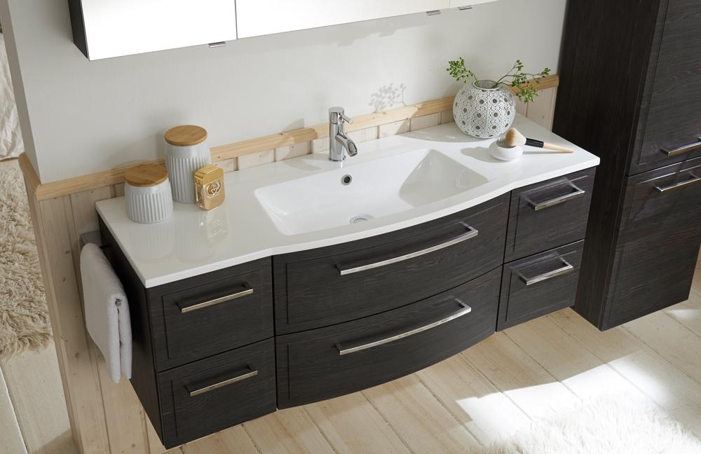 badezimmer 3140 robinie dunkel von marlin m bel letz ihr online shop. Black Bedroom Furniture Sets. Home Design Ideas