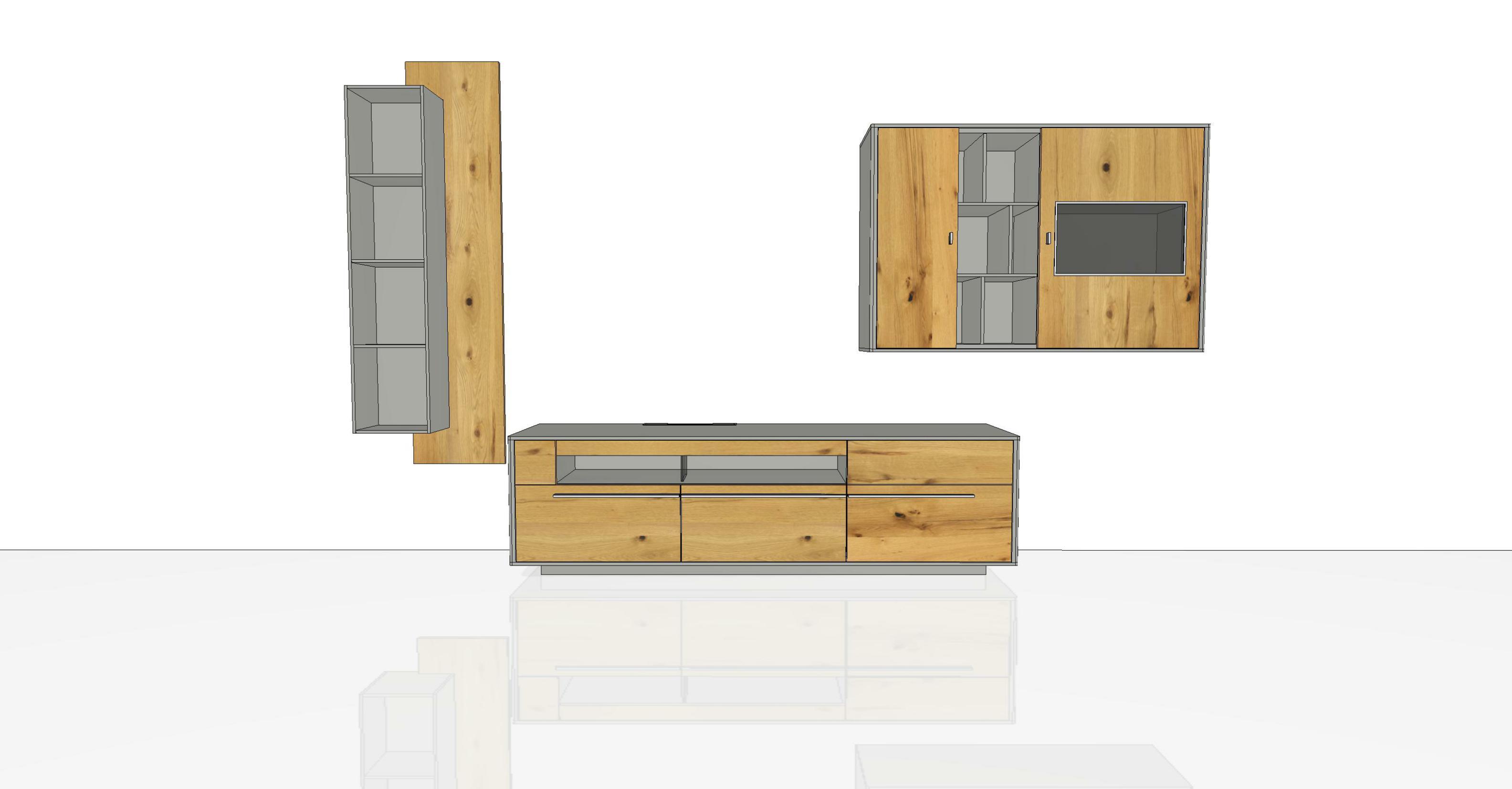 wohnwand piana pn5 von gwinner wohndesign m bel letz. Black Bedroom Furniture Sets. Home Design Ideas