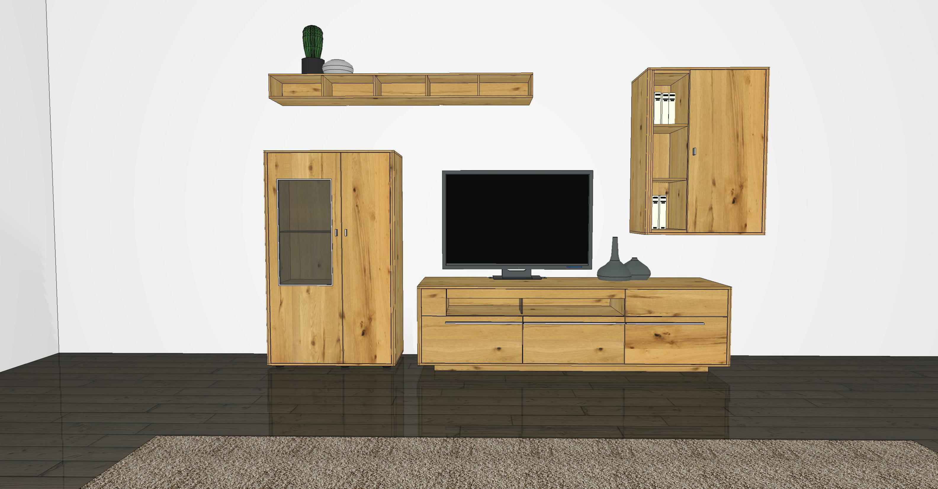 wohnwand piana pn6 von gwinner m bel letz ihr online shop. Black Bedroom Furniture Sets. Home Design Ideas