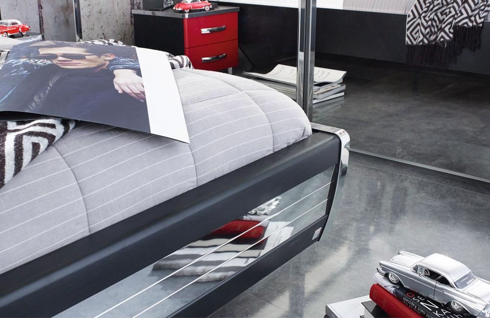 Exquisit Schlafzimmer Schwarz Rot Entwurf