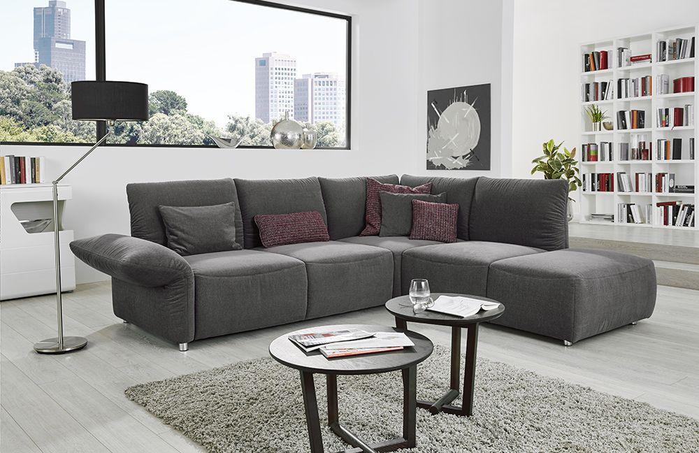 poco alexa ecksofa grau m bel letz ihr online shop. Black Bedroom Furniture Sets. Home Design Ideas