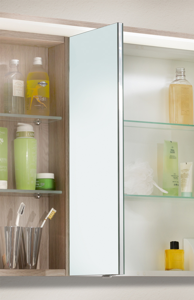 badezimmer spiegelschrank joice eiche von marlin m bel letz ihr online shop. Black Bedroom Furniture Sets. Home Design Ideas