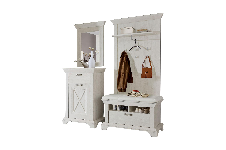 garderobe kashmir wei von forte m bel letz ihr online shop. Black Bedroom Furniture Sets. Home Design Ideas