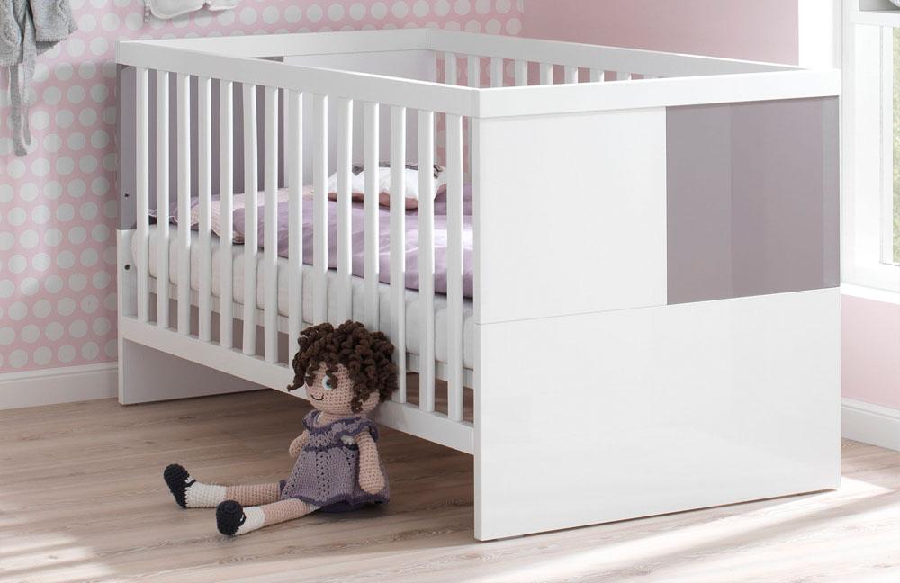 wellemöbel babyzimmer milla weiß lilac grey | möbel letz - ihr