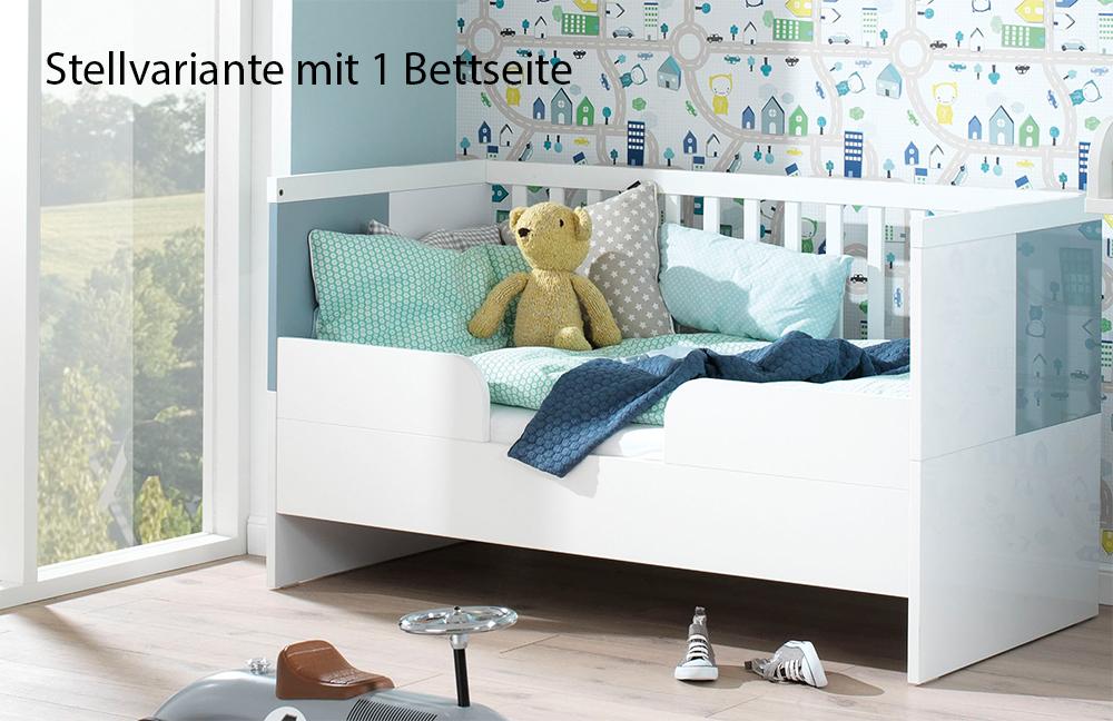 wellemöbel milla babyzimmer weiß pacific blau | möbel letz - ihr