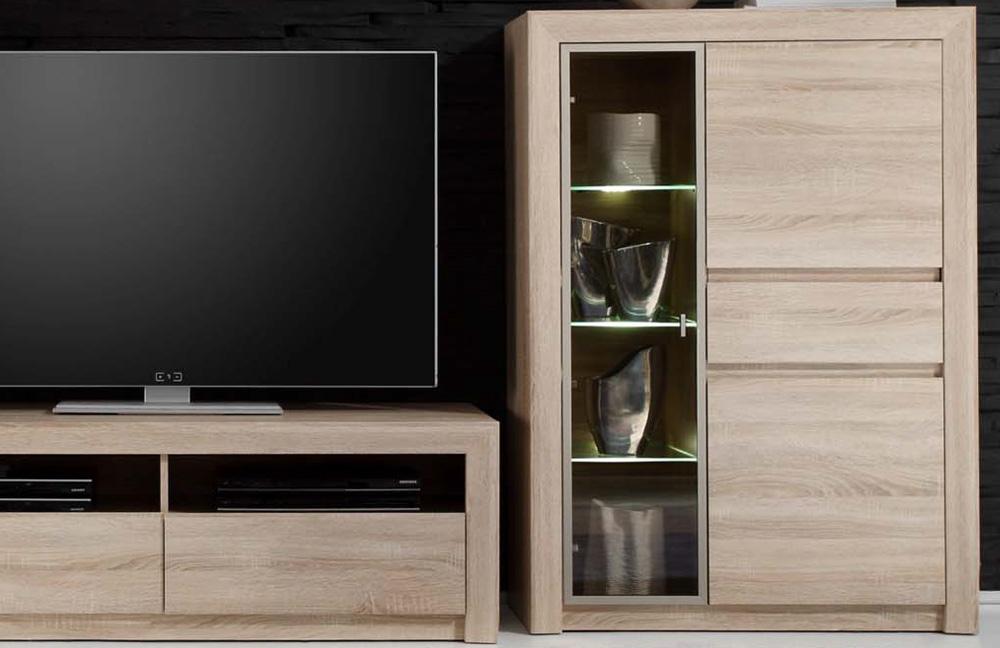 wohnwand sevilla 1415 947 45 von trendteam m bel letz ihr online shop. Black Bedroom Furniture Sets. Home Design Ideas