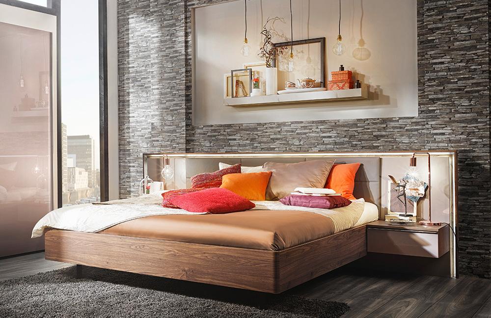 Nolte Möbel Ipanema Schlafzimmer Nussbaum | Möbel Letz - Ihr ... Schlafzimmer Nolte
