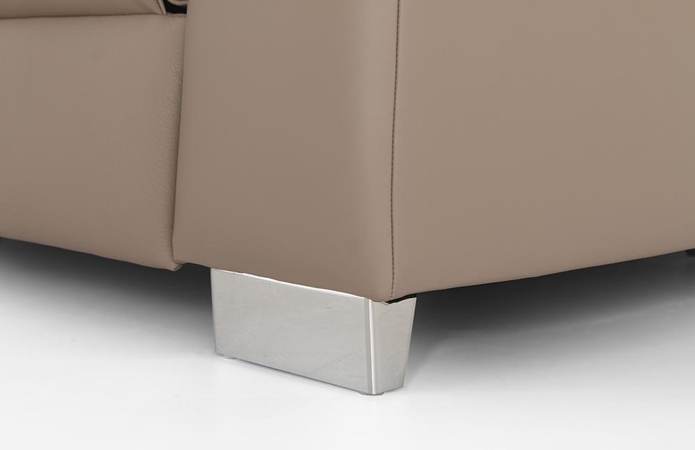 polinova ecksofa clou l beige m bel letz ihr online shop. Black Bedroom Furniture Sets. Home Design Ideas