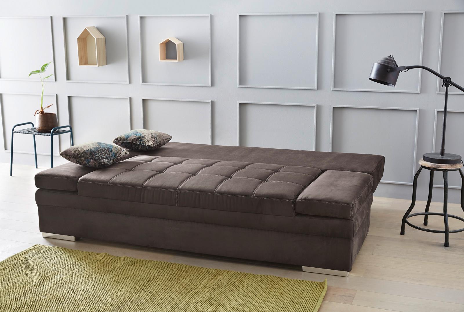 jockenh fer joshua funktionssofa in braun m bel letz ihr online shop. Black Bedroom Furniture Sets. Home Design Ideas