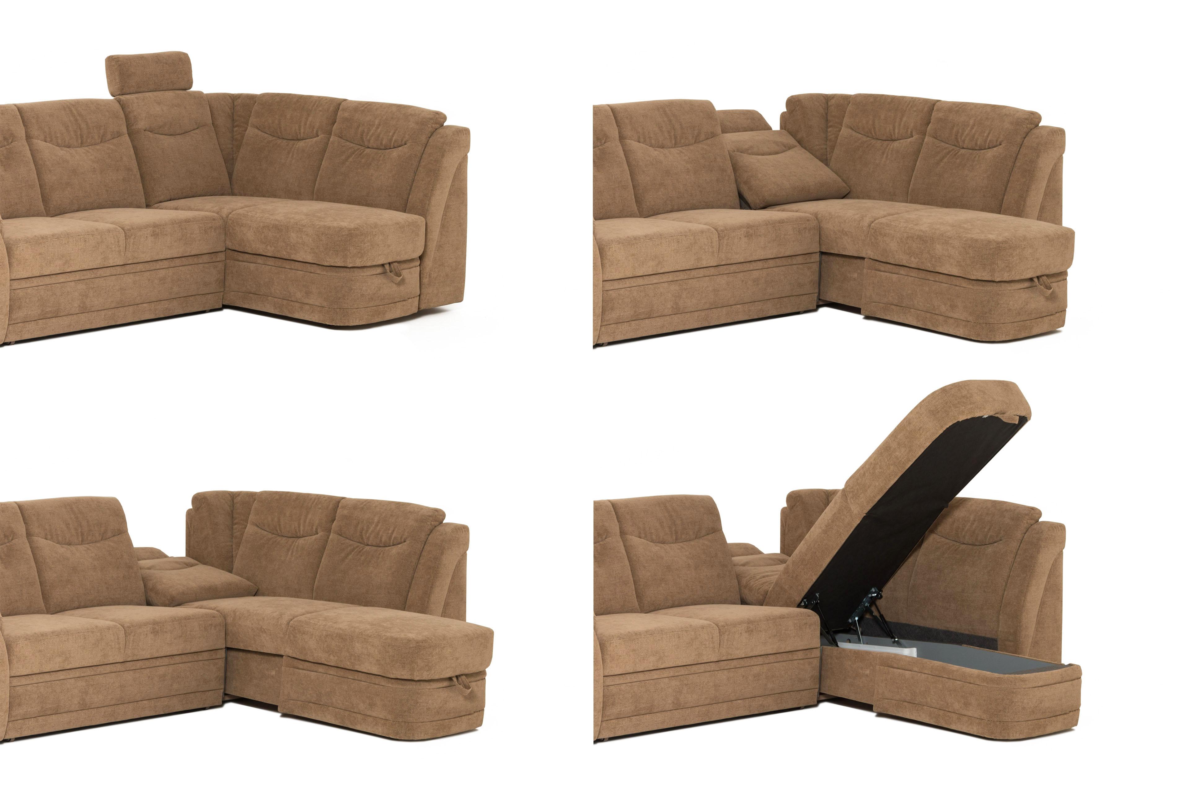 pm oelsa ecksofa saskia in beige m bel letz ihr online shop. Black Bedroom Furniture Sets. Home Design Ideas