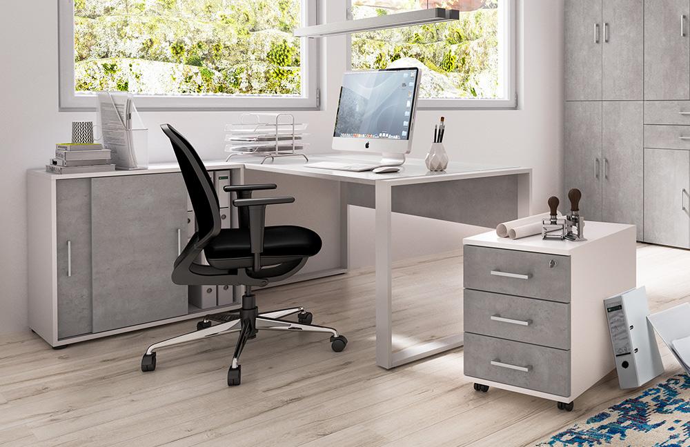 r hr bush b rom bel beton wei m bel letz ihr online shop. Black Bedroom Furniture Sets. Home Design Ideas